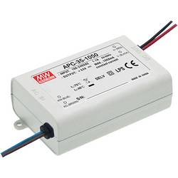 LED driver Mean Well APC-35-1050, 34.7 W (max), 1.05 A, 11 - 33 V/DC