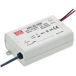 LED driver konštantný prúd Mean Well APC-35-1050, 34.7 W (max), 1.05 A, 11 - 33 V/DC