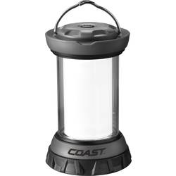 LED campingový lampáš Coast EAL12 20374, 312 g, čiernostrieborná