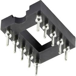 IO patice TRU COMPONENTS 2.54 mm, 7.62 mm, pólů 4, 1 ks