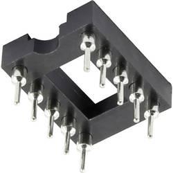 IO patice TRU COMPONENTS 2.54 mm, 7.62 mm, pólů 8, 1 ks