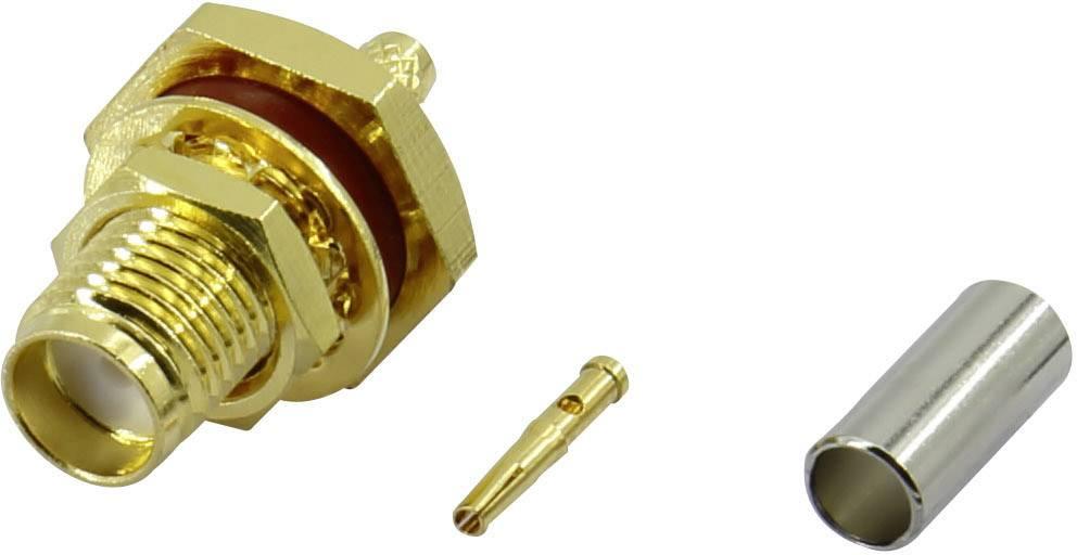 SMA konektor Conrad Components SMA-KC-RG316 – zásuvka, rovná, 1.7 mm, 50 Ohm, 1 ks