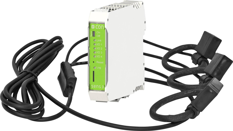 Multifunkční měřič na DIN lištu econ Solutions sens3, 400 A