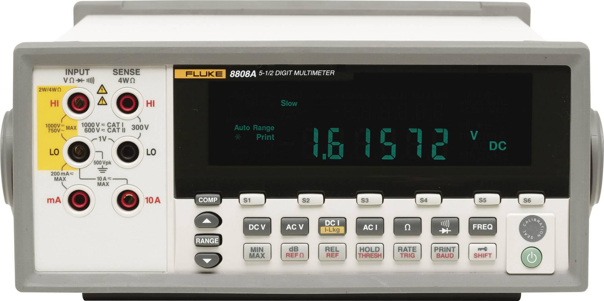 Digitální stolní multimetr Fluke Calibration 8808A/SU 240V
