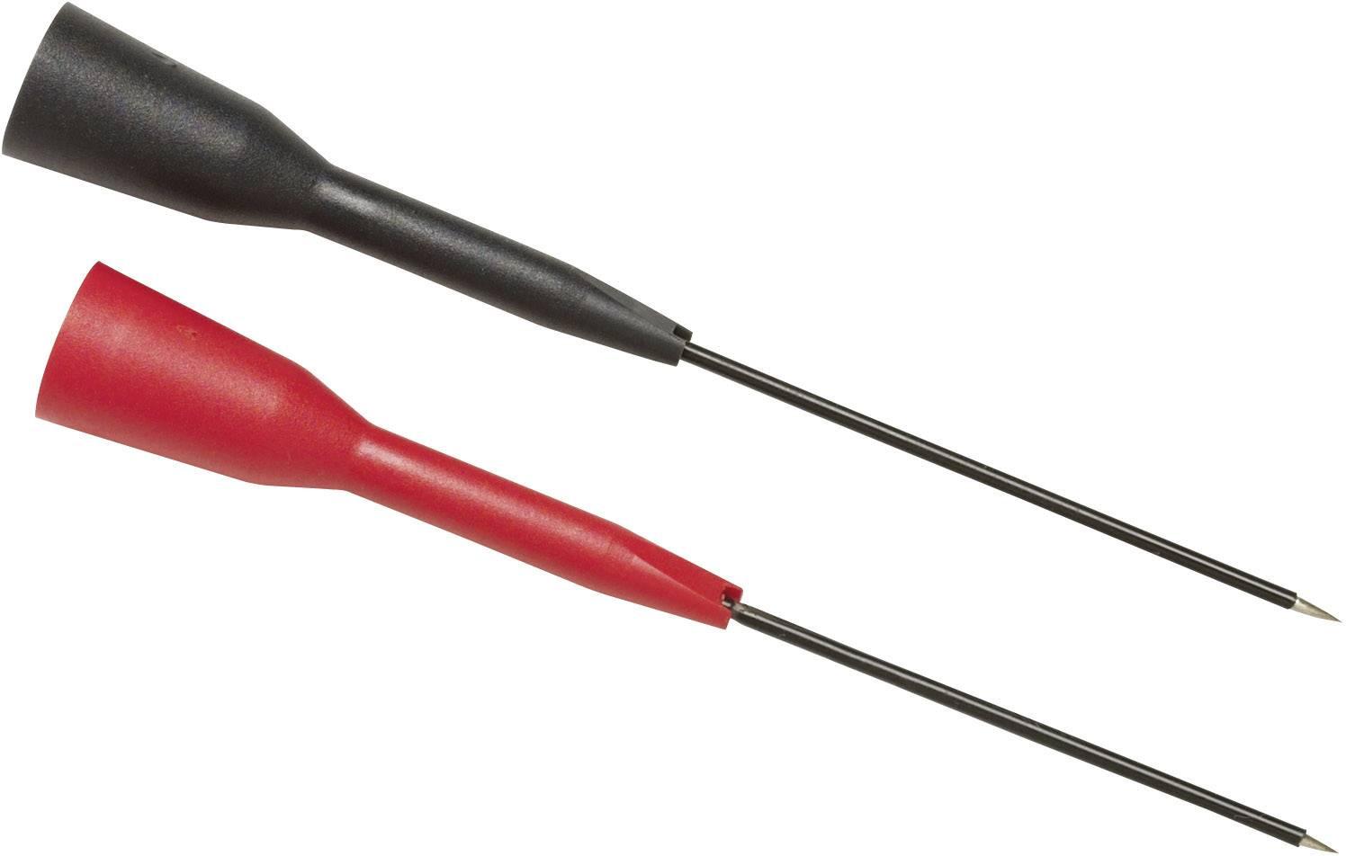Súprava skúšobných hrotov Fluke TP88 zásuvka 2 mm CAT I, červená, čierna