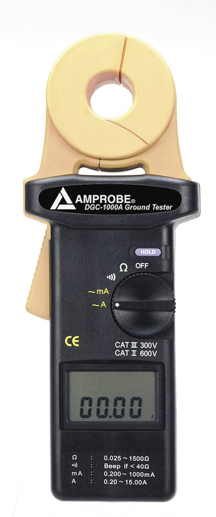 Beha Amprobe DGC-1000A Erdungsmesser, Erdwiderstandsmessgerät, Kalibrováno dle bez certifikátu