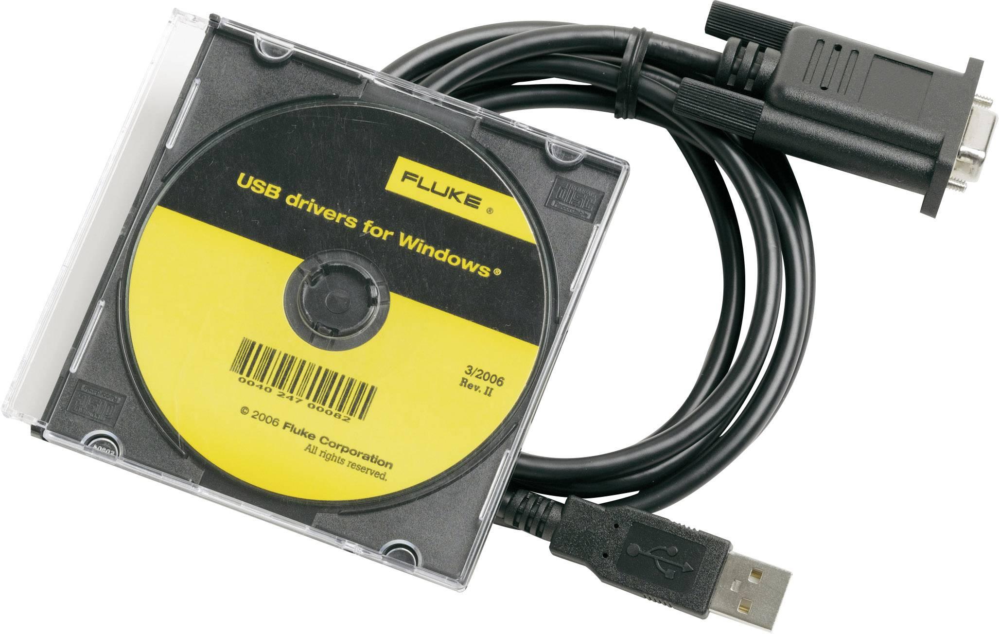 Prepojovací kábel pre rozhranie Fluke Calibration 884X-USB 2675479