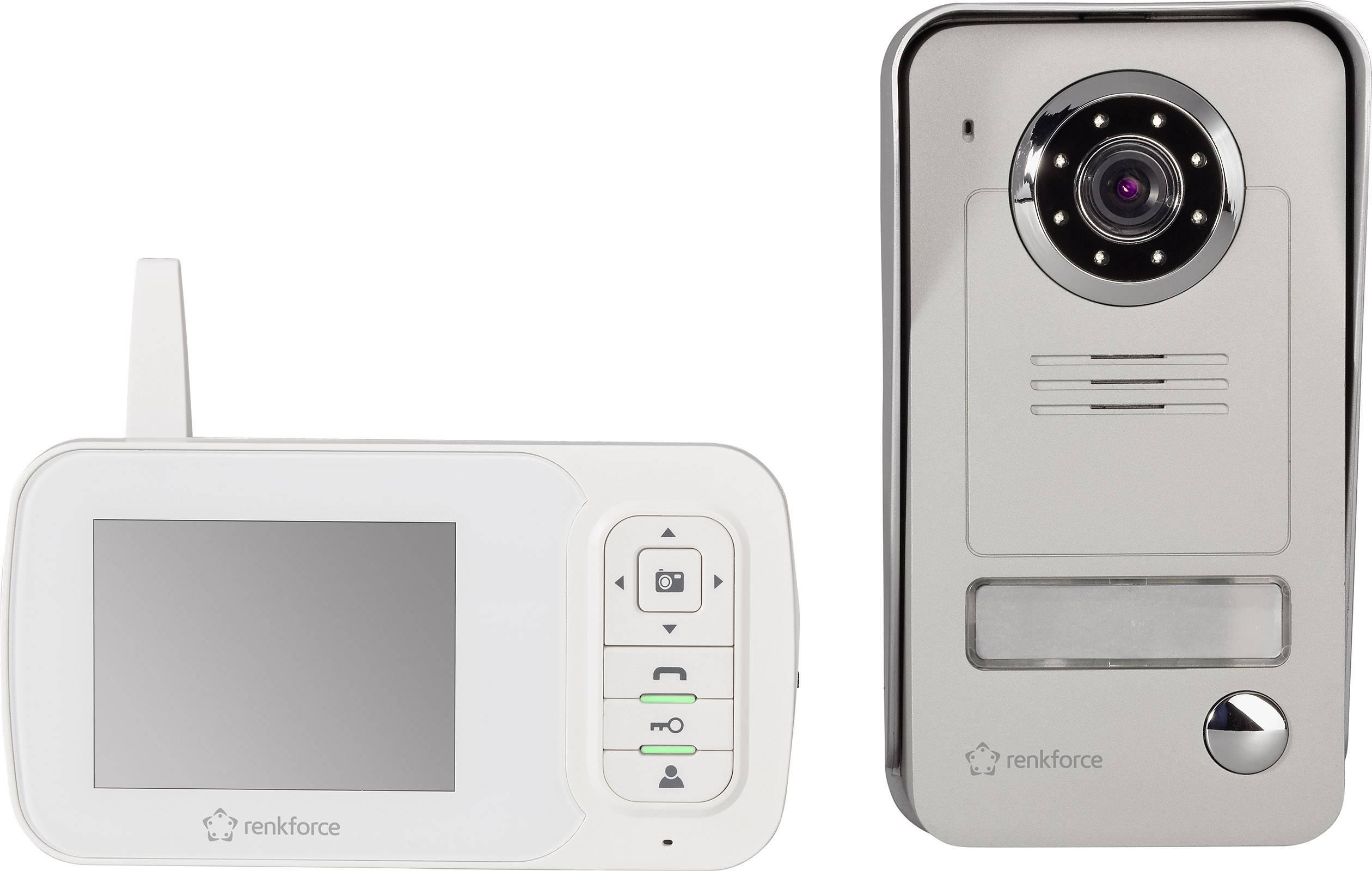 Bezdrôtový domáci videotelefón RENKFORCE, 1 rodina,