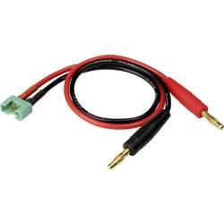 Nabíjací kábel Reely 1373182, [2x banánková zástrčka - 1x MPX zástrčka], 30.00 cm, 2.5 mm²