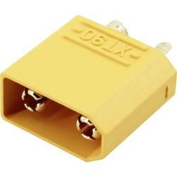 Zásuvkový konektor k prepojeniu akumulátora a regulátora RC modelu Reely 1373201, XT90, pozlátené, 1 ks