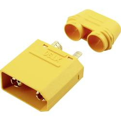 Zásuvkový konektor k prepojeniu akumulátora a regulátora RC modelu Reely 1373203, XT90-S, pozlátené, 1 ks