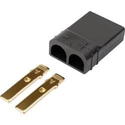 Zástrčkový konektor k prepojeniu akumulátora a regulátora RC modelu Reely 1373220, TRX, pozlátené, 1 ks