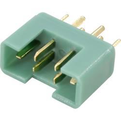 Zásuvkový konektor k prepojeniu akumulátora a regulátora RC modelu Reely 1373222, MPX, pozlátené, 1 ks
