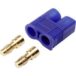 Zásuvkový konektor k prepojeniu akumulátora a regulátora RC modelu Reely 1373223, EC3, pozlátené, 1 ks