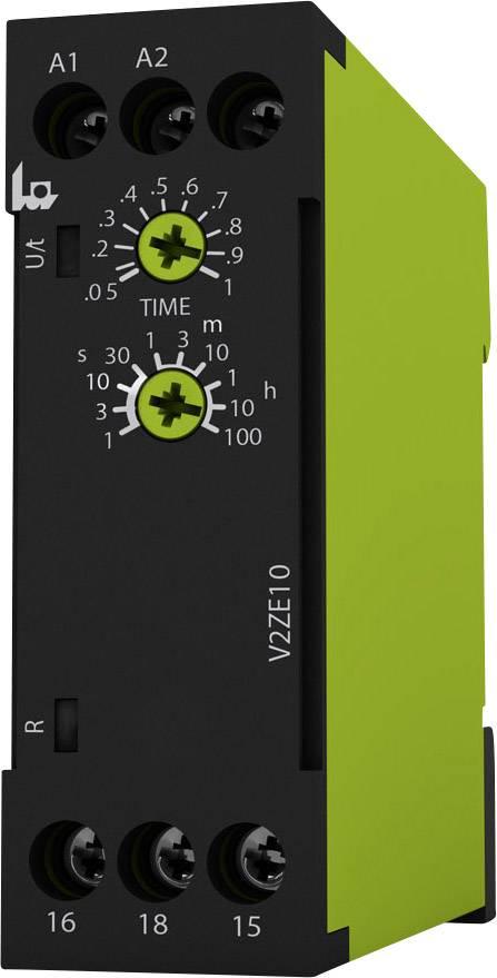 Časové relé monofunkční tele V2ZE10 24-240V AC/DC 125110, 0.05 s - 100 h, 1 přepínací kontakt, 1 ks