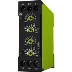 Multifunkční časové relé tele V2ZI10 12-240V AC/DC, čas.rozsah: 0.05 s - 100 h, 1 přepínací kontakt 1 ks