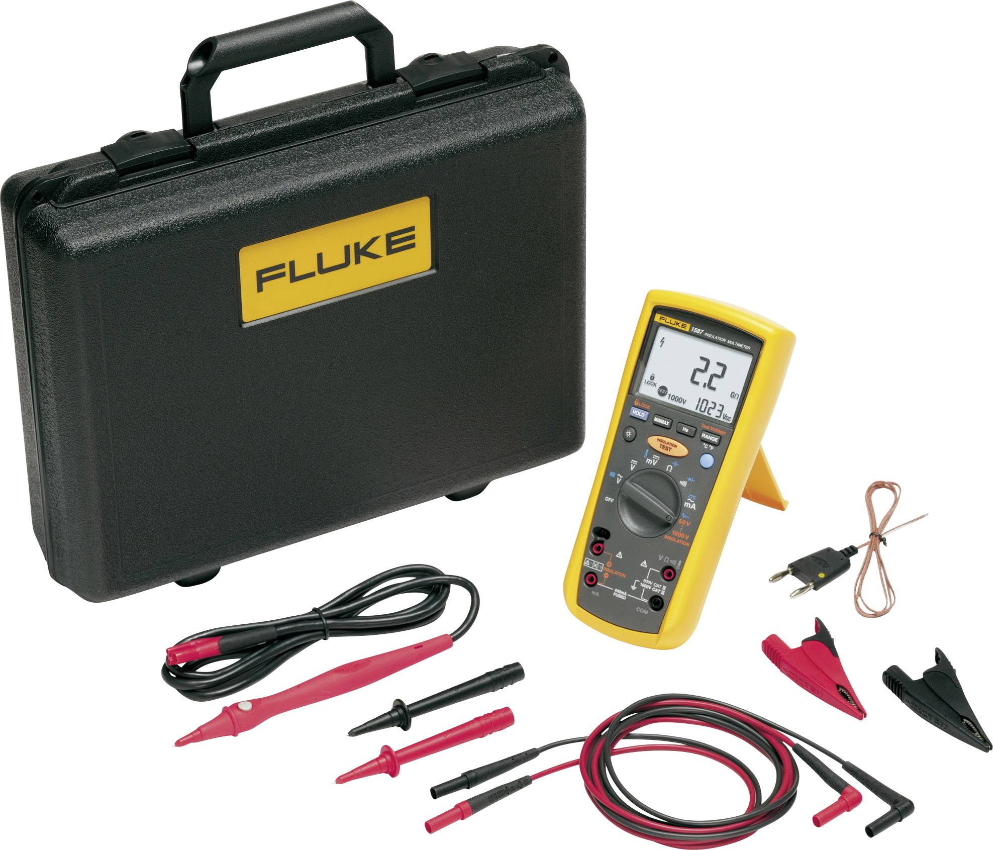Měříč izolace s multimetrem Fluke 1587T 2517605 (Telecom)