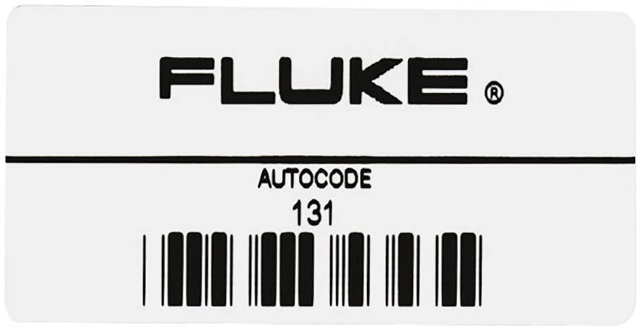Samolepka Fluke AUTO200B 2141239