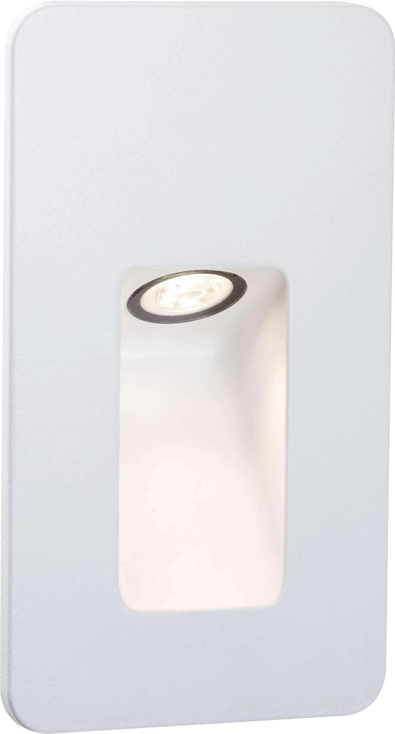 Vonkajšie vstavané LED osvetlenie 2.4 W Paulmann Slot 93808 biela (matná)