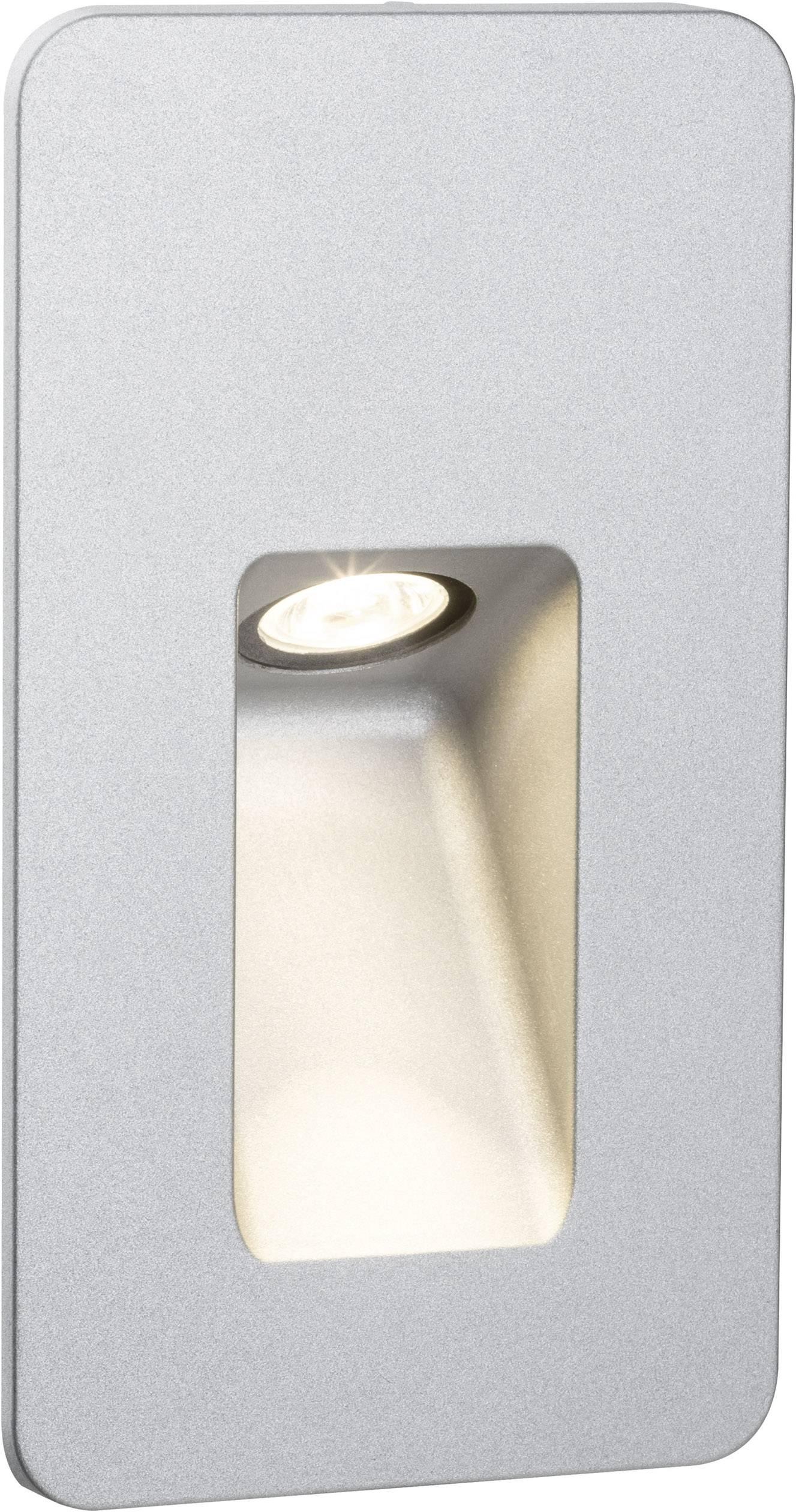 Vonkajšie vstavané LED osvetlenie 2.4 W Paulmann Slot 93826 hliník (matný)
