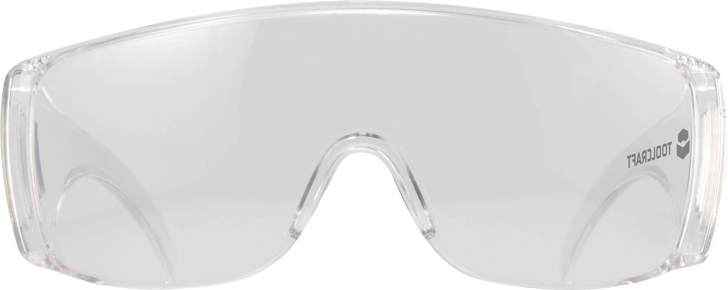 Ochranné okuliare TOOLCRAFT, polykarbonát, EN 166