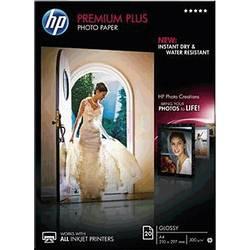 Fotografický papír HP Premium Plus Photo Paper CR672A, A4, 20 listů, lesklý