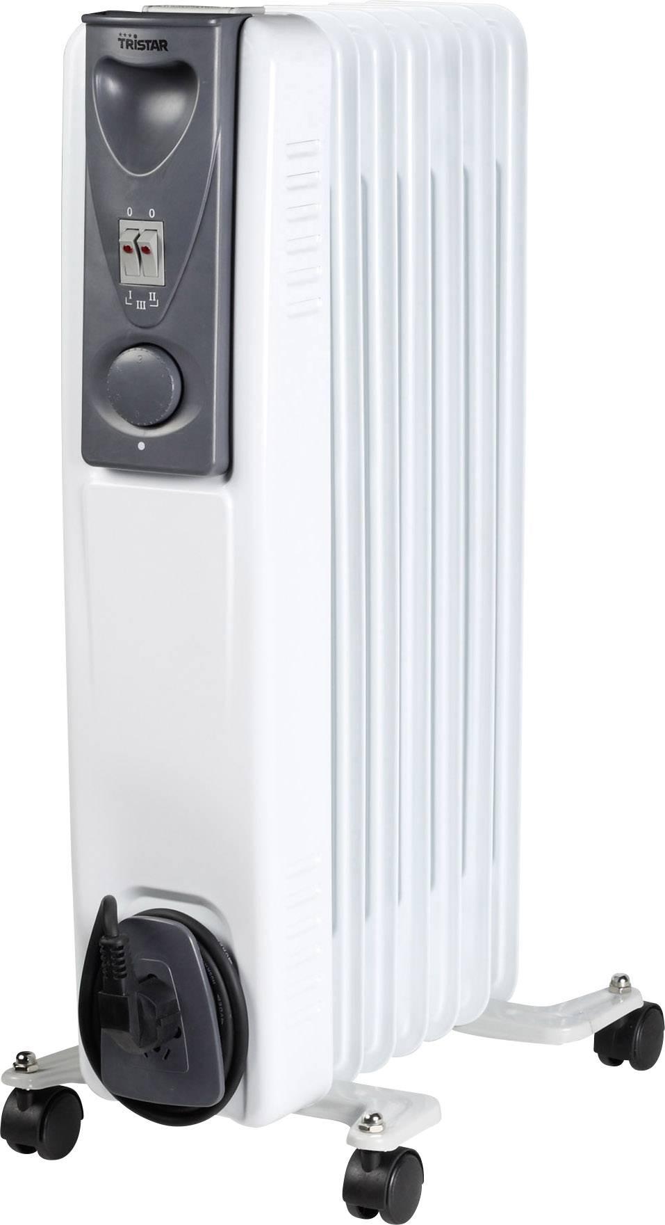 Olejový radiátor Tristar KA-5113, 15 m², 600 W, 900 W, 1500 W, biela