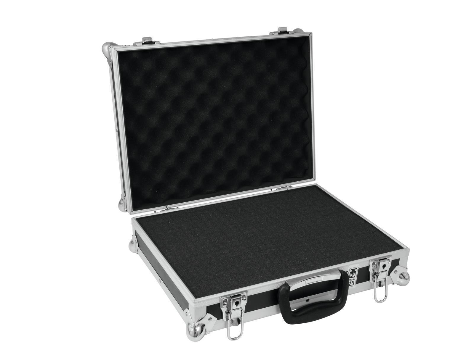 Case (kufr) Roadinger 25 30126218, (d x š x v) 315 x 415 x 135 mm, černá/stříbrná