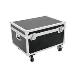 Transportný box/kufor Omnitronic R-7 30126729, (d x š x v) 620 x 820 x 465 mm, čierna, strieborná