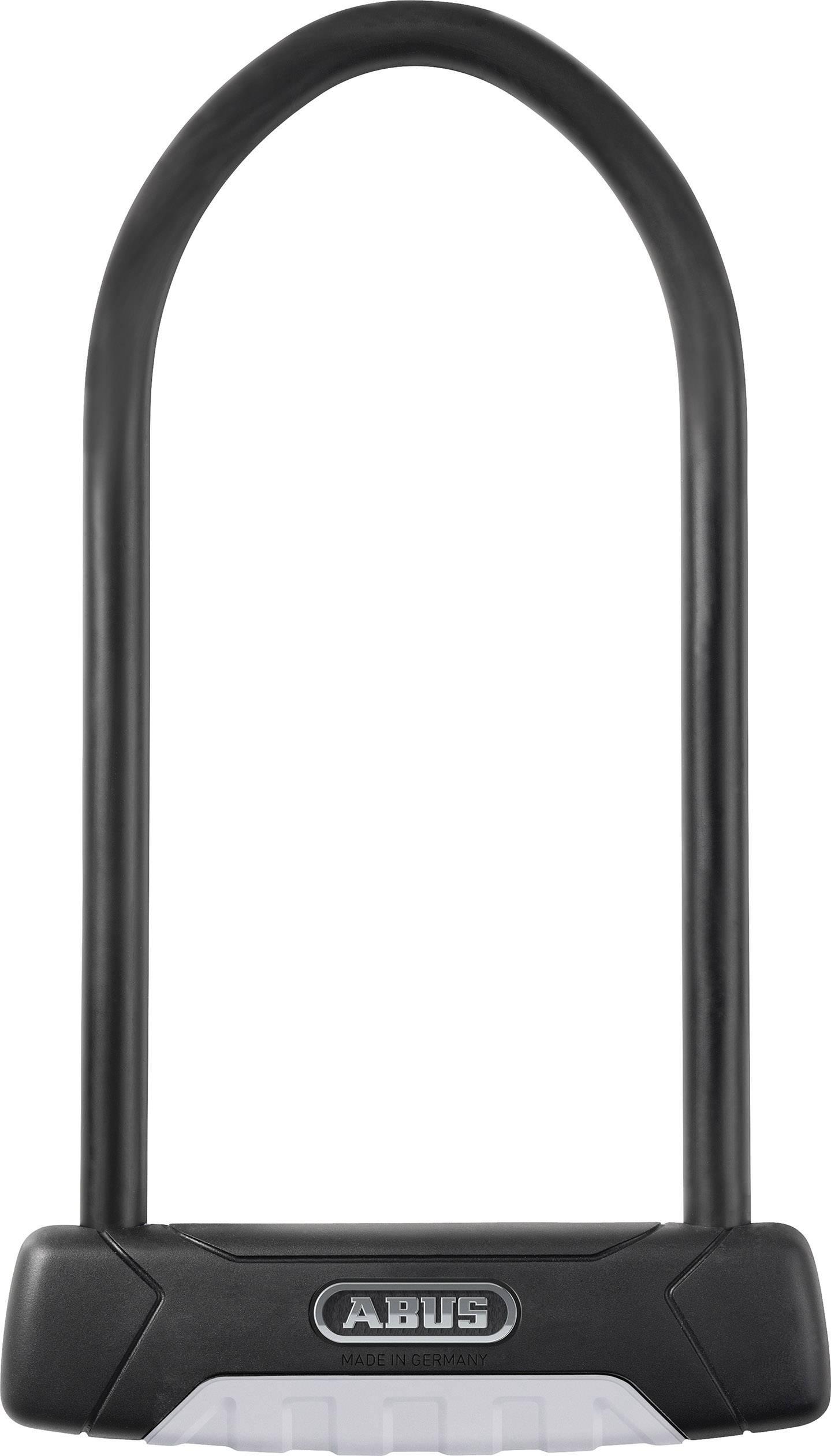 U zámok ABUS 470/150HB300+USH GRANIT Plus, (Ø x v) 12 mm x 300 mm, čierna