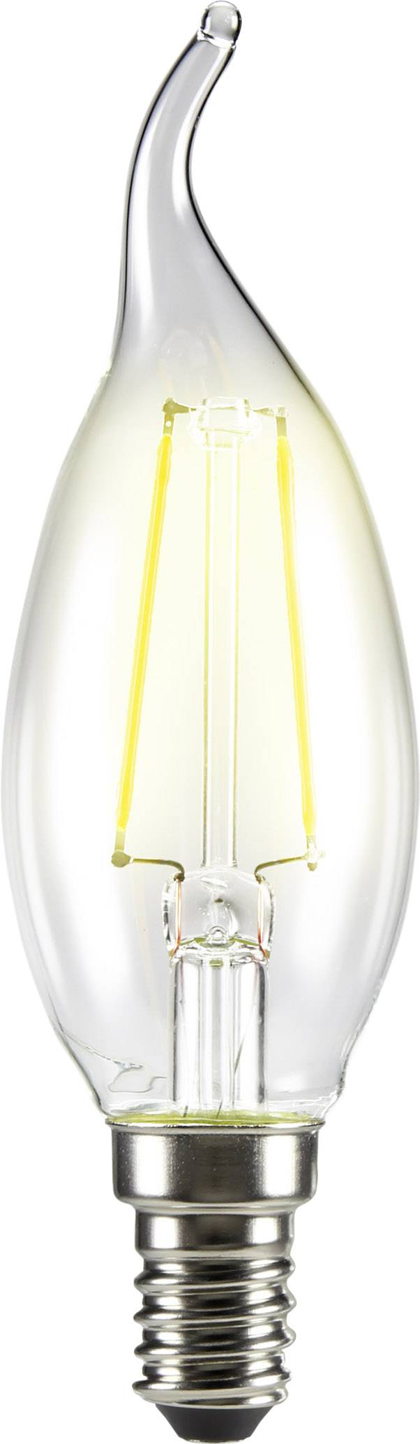LED žiarovka 120 mm sygonix 230 V 4 W = 37 W vlákno 1 ks