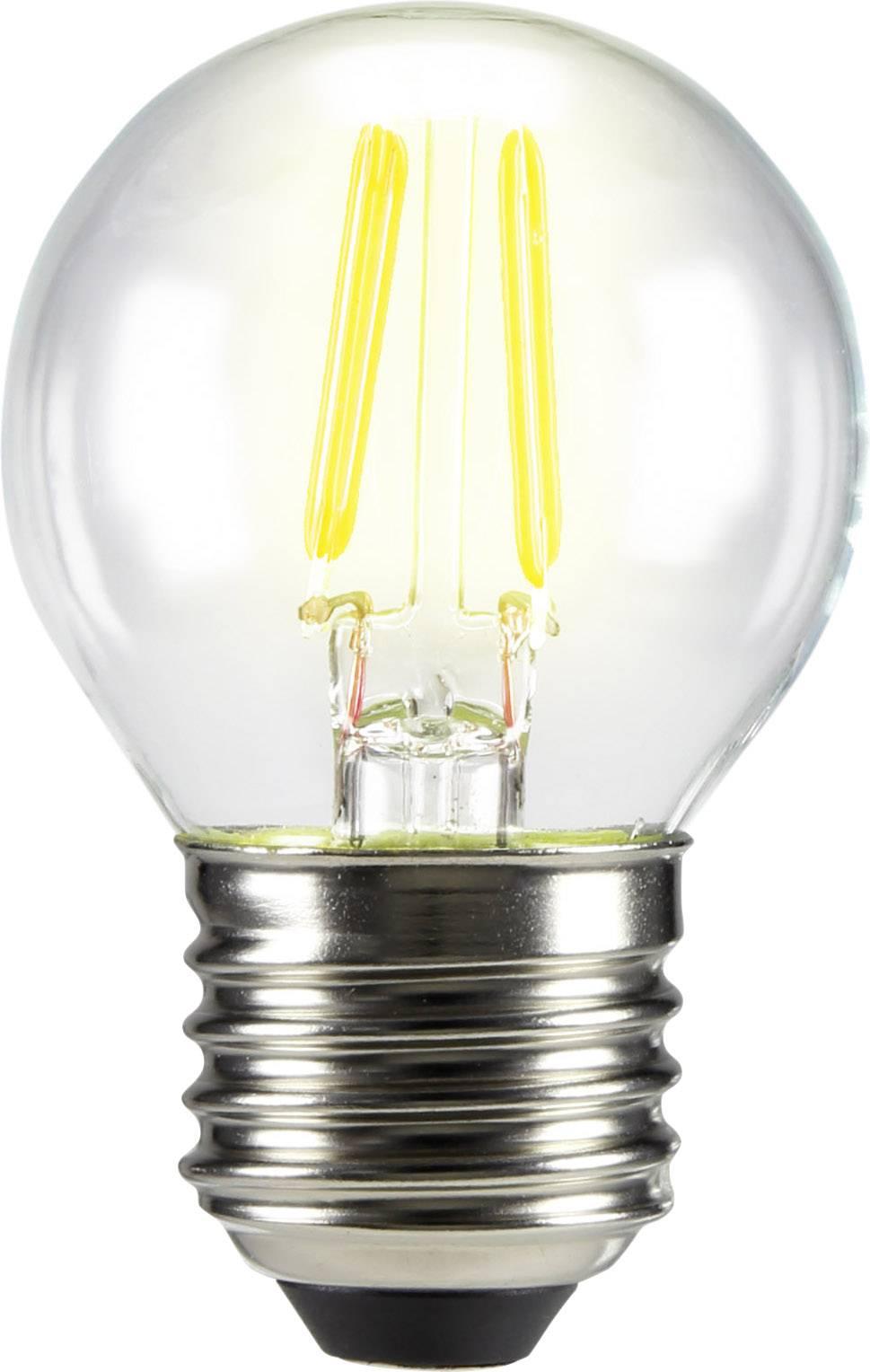 LED žiarovka 72 mm sygonix 230 V 3 W = 28 W vlákno 1 ks