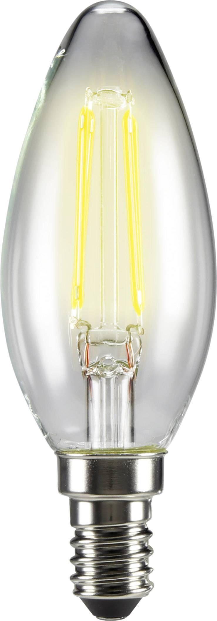 LED žiarovka 99 mm sygonix 230 V 4 W = 40 W vlákno 1 ks