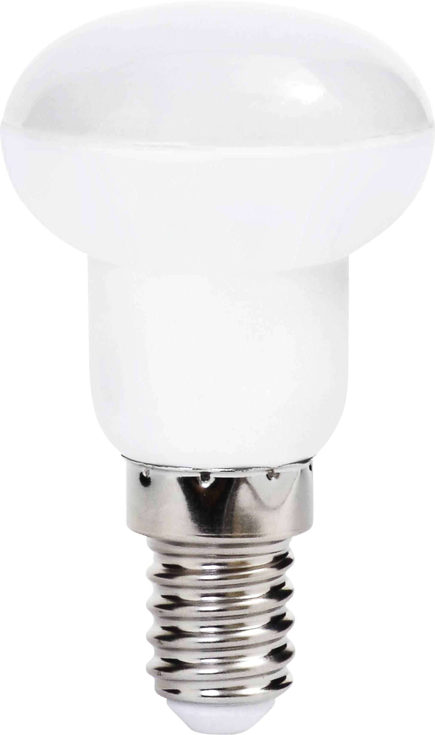 LED žárovka Müller Licht 400068 230 V, E14, 3 W = 21 W, teplá bílá, A+ (A++ - E), reflektor, 1 ks