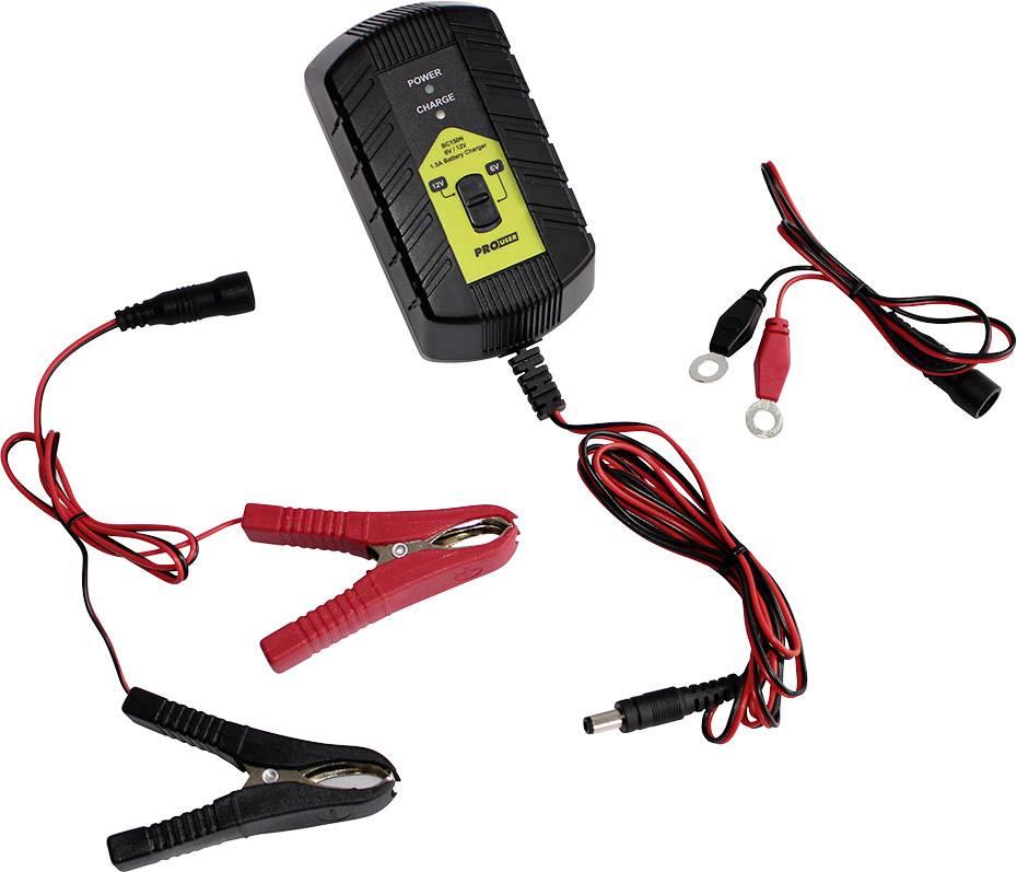 Automatická nabíjačka ProUser Inteligentná nabíjačka 1,5 A BC150N 12 V