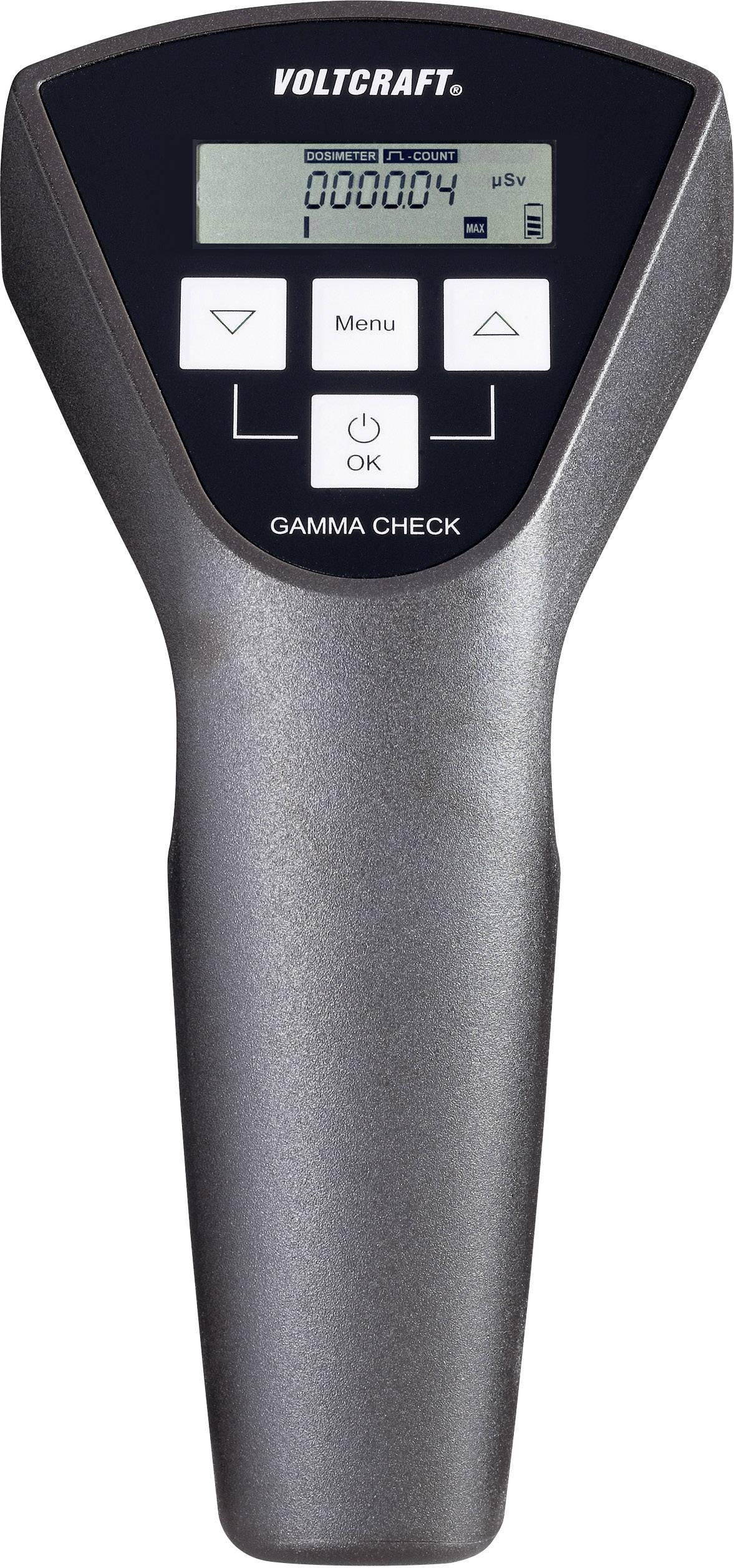 Geigerov čítač Voltcraft Gamma-Check-Pro, 0,0001 - 999999 μSv