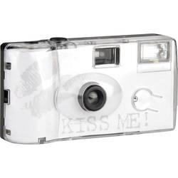 Topshot Kiss Me jednorázový fotoaparát 1 ks s vestavěným bleskem