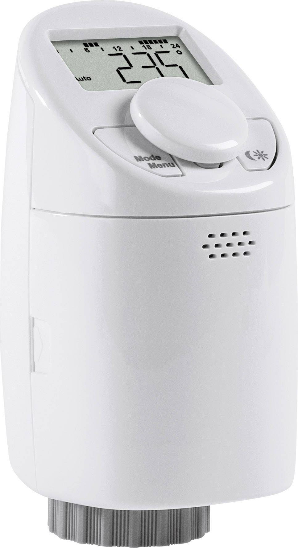 Programovatelná termostatická hlavice eQ-3 CC-RT-M, 5 až 29.5 °C, otočený displej