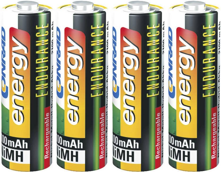 Akumulátor AA Ni-MH Conrad energy Endurance HR06, 2600 mAh, 1.2 V, 4 ks