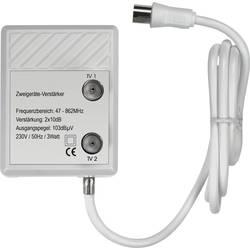 Zesilovač televizního signálu dvojitý Renkforce 20 dB