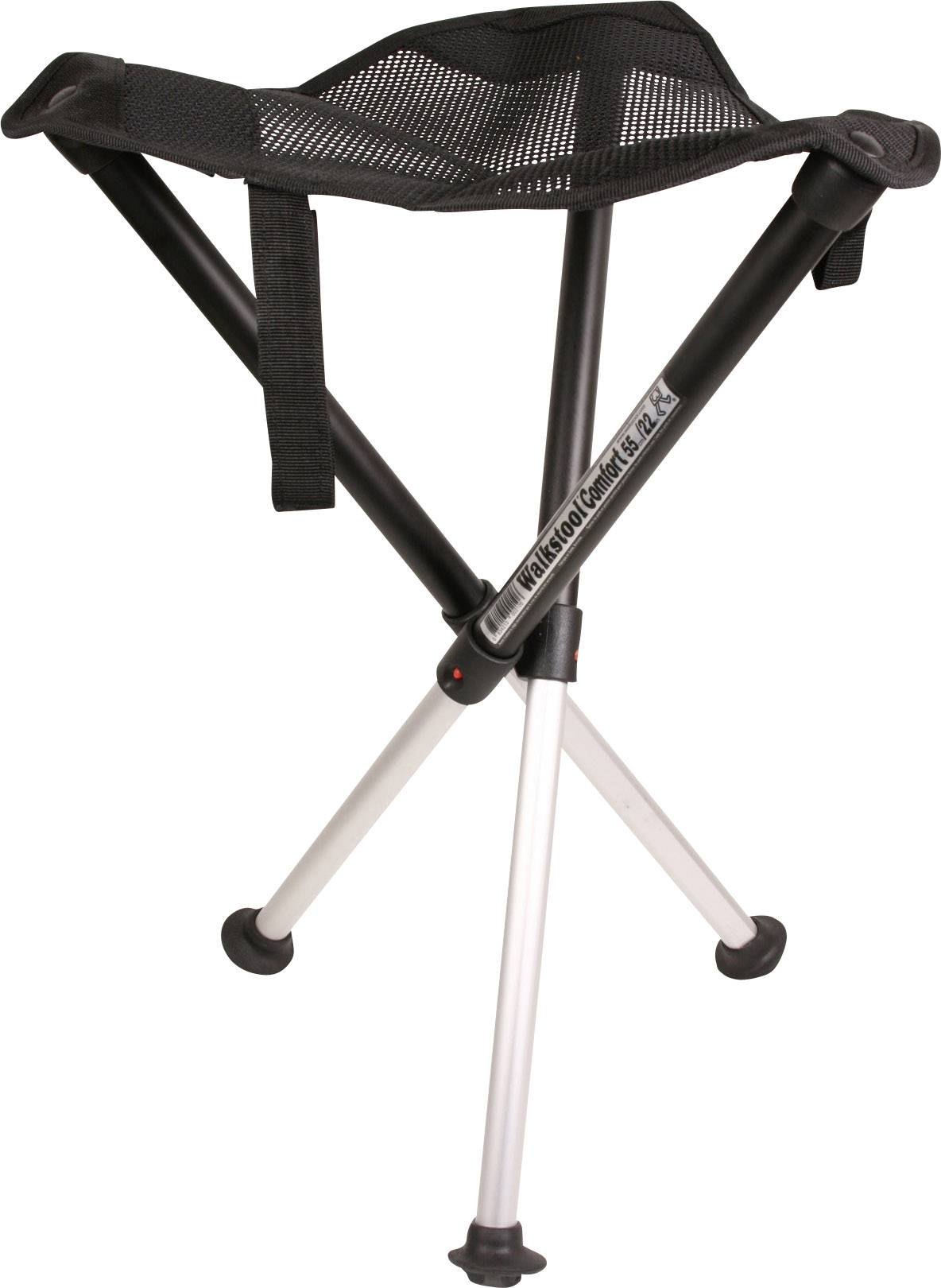 Kempingová židle Walkstool Comfort XL černá/stříbrná 63547