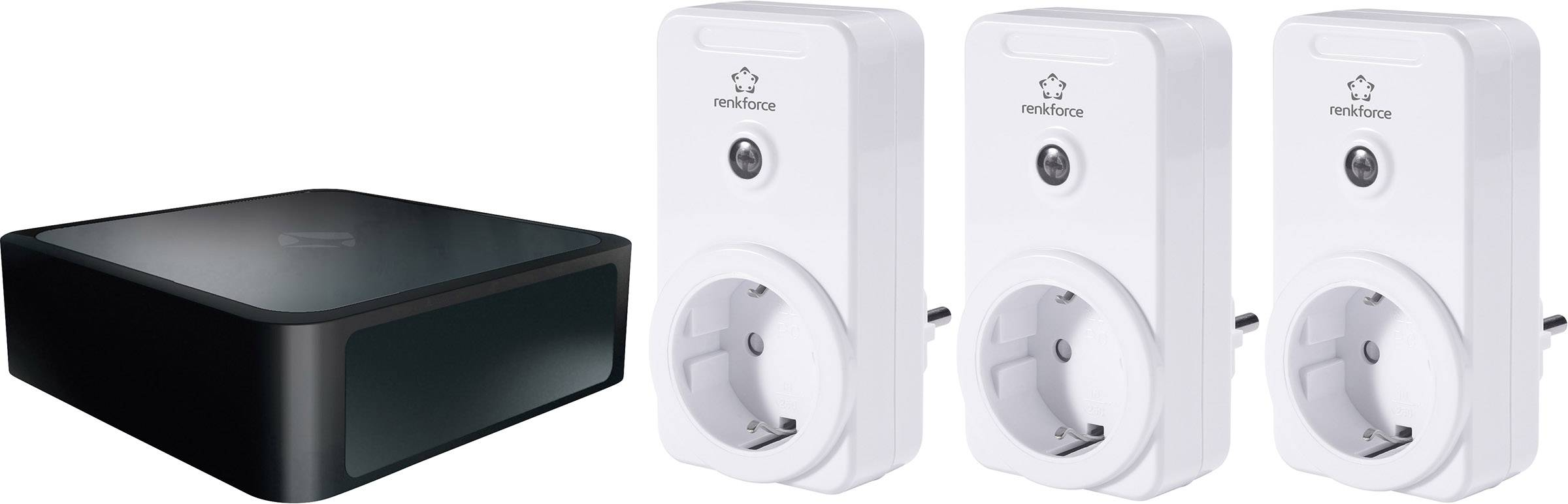 Gateway s bezdrôtovými spínacími zásuvkami Mediola V4 3500 W