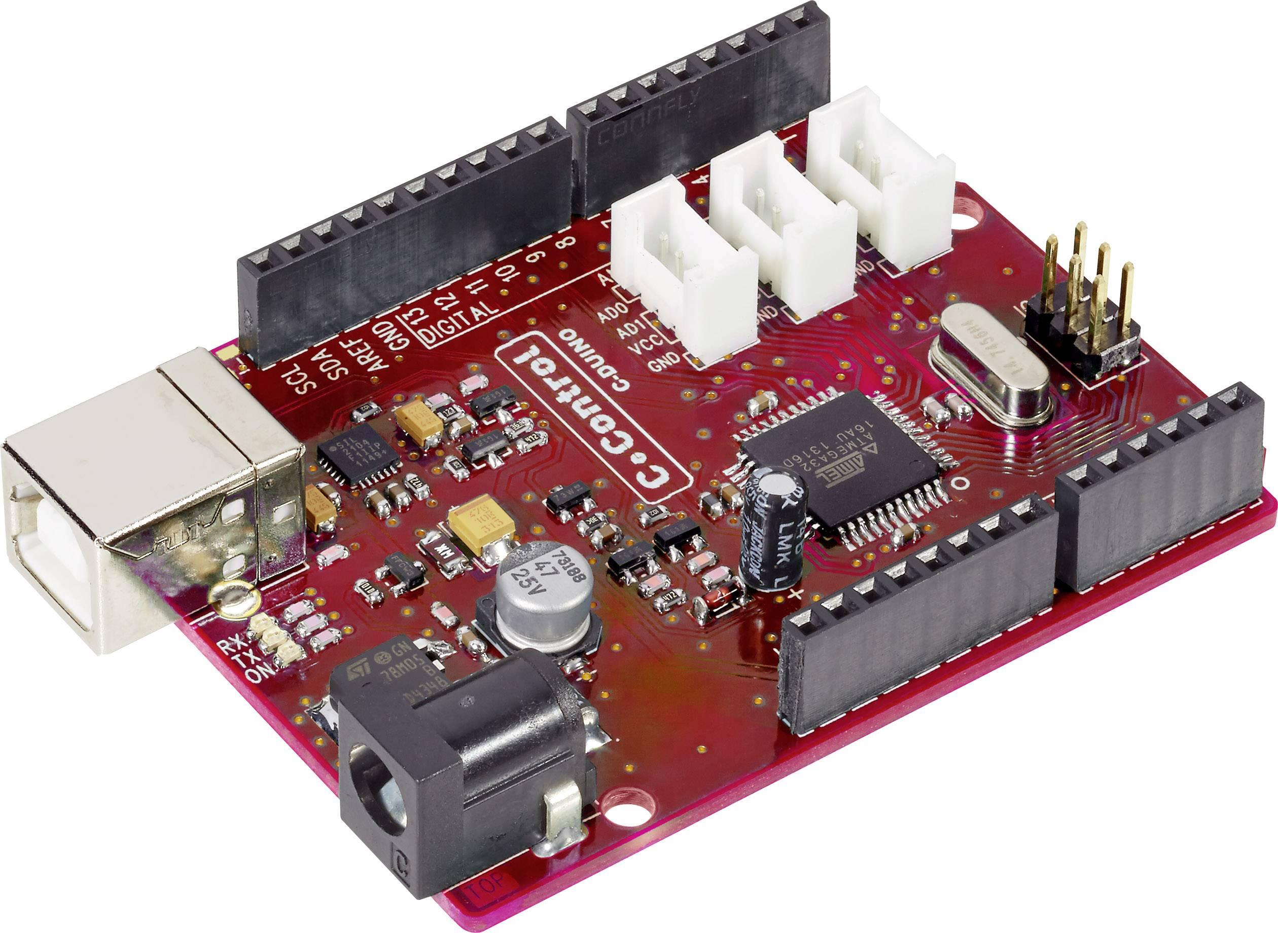 Vývojová doska - štartovacia sada C-Control PRO Mega32 + software Grape