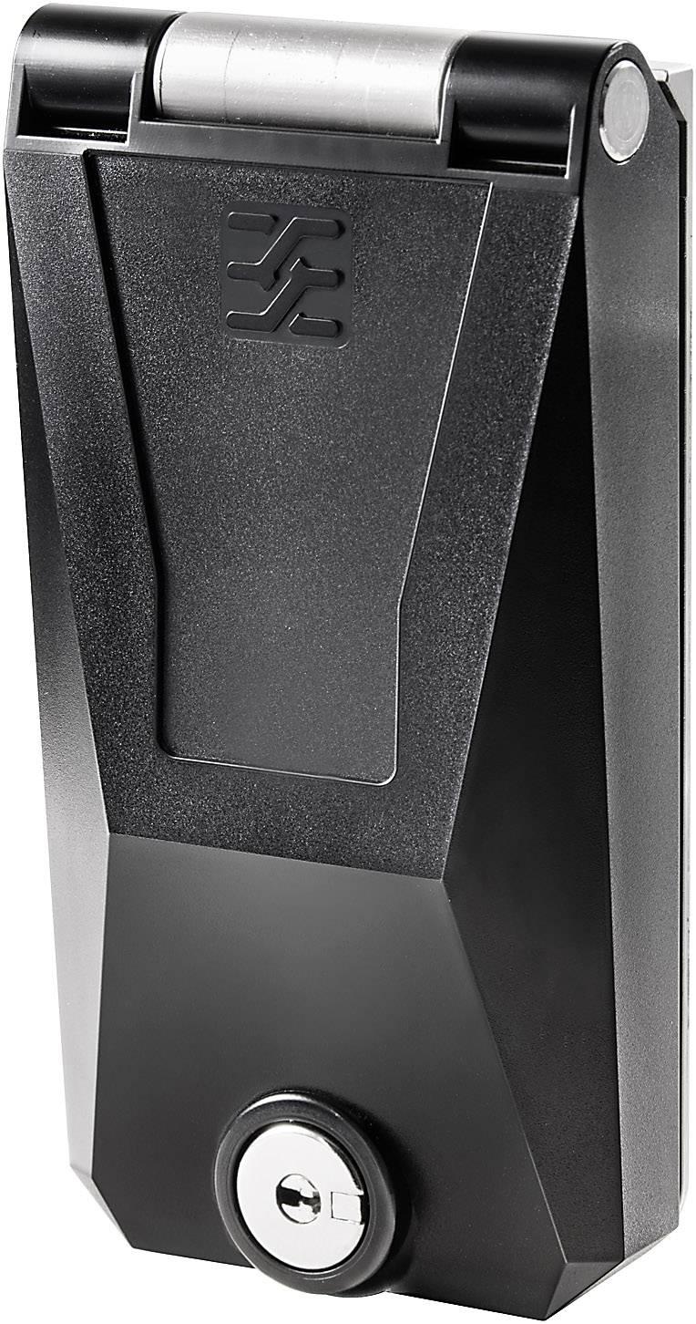 FrontCom® rám, kovový kryt, uzamykatelný s klíčem IE-FC-SFM-KEY Weidmüller Množství: 1 ks