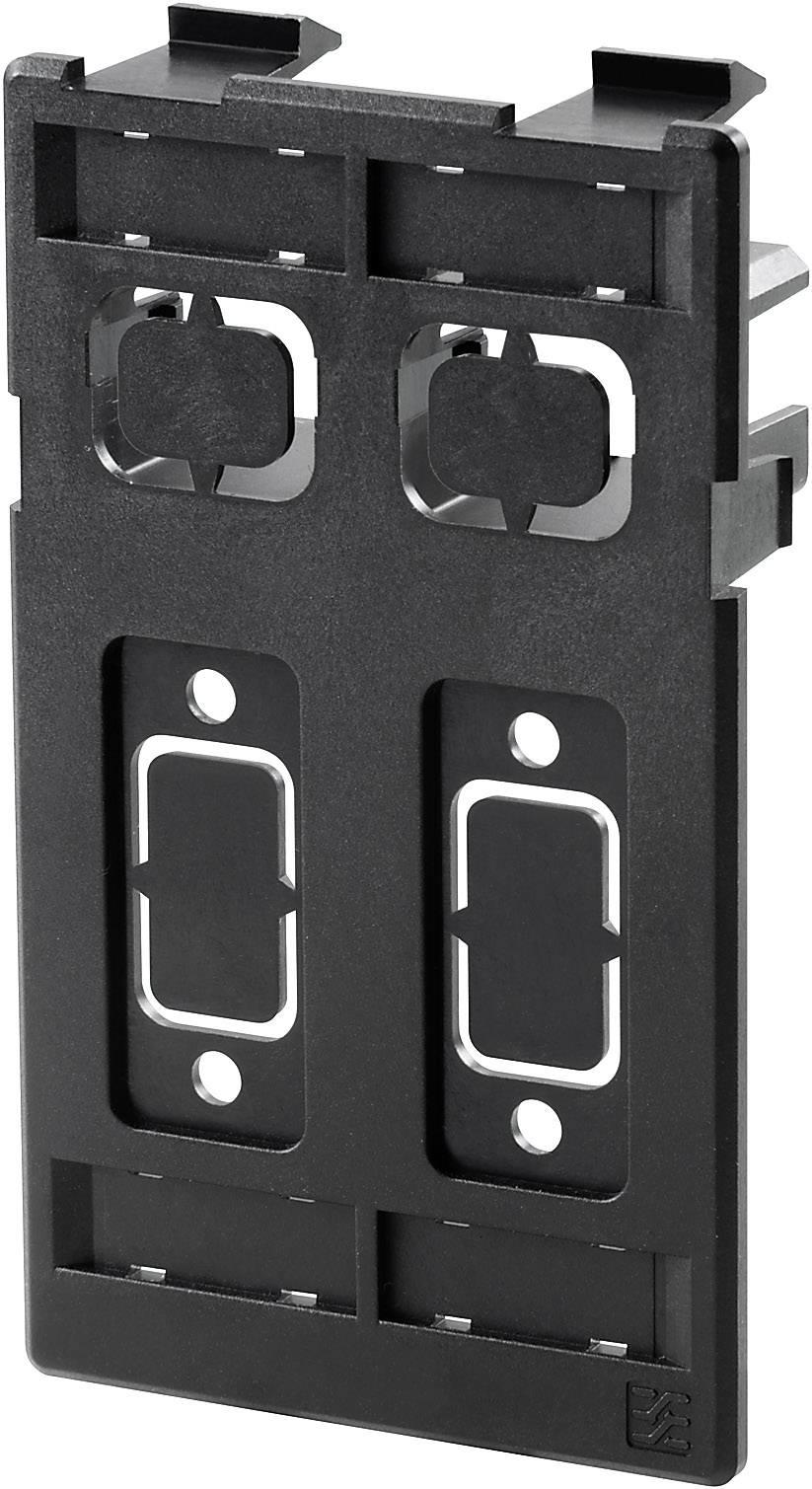 FrontCom® Vario použití deska, stíněný, 2x, 2x signální IE-FC-SP-2ST/2D9 Weidmüller Množství: 1 ks