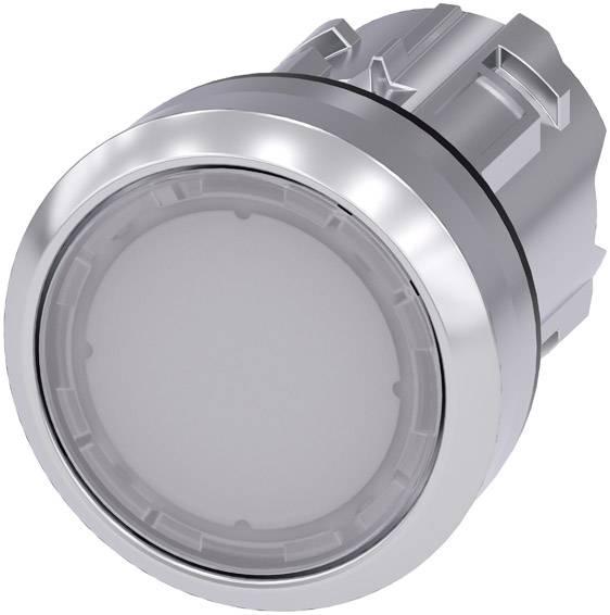 Světelné tlačítko Siemens SIRIUS ACT 3SU1051-0AB60-0AA0, bílá, 1 ks