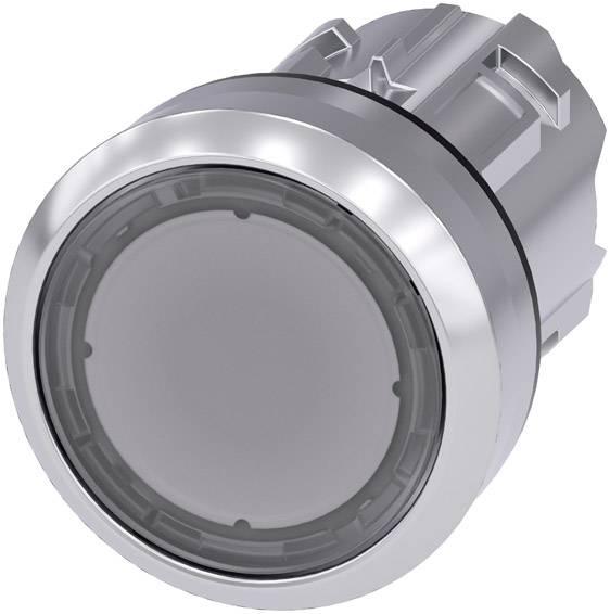 Světelné tlačítko Siemens SIRIUS ACT 3SU1051-0AB70-0AA0, čirá, 1 ks