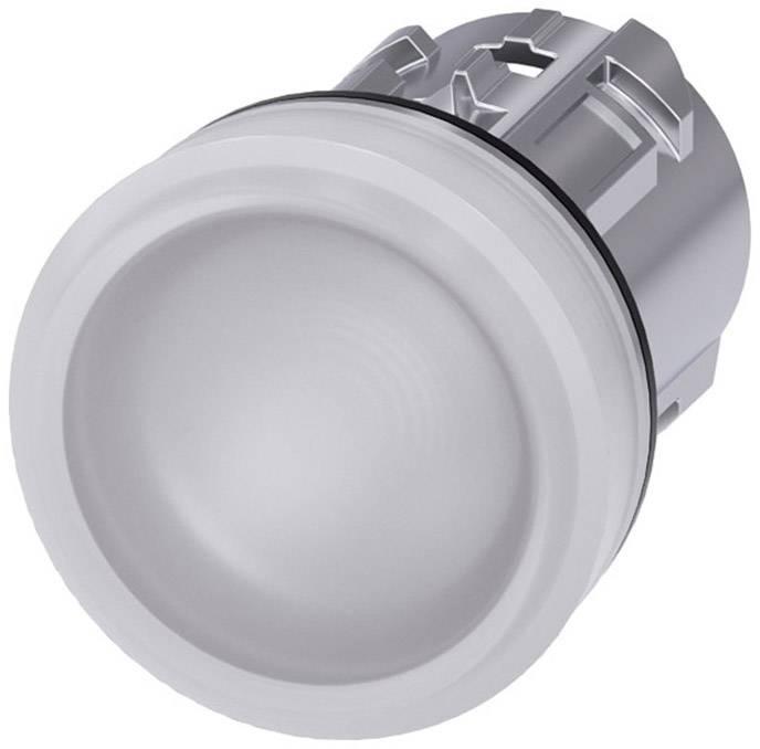 Signalizační světlo Siemens 3SU1051-6AA60-0AA0, plochý, bílá, 1 ks