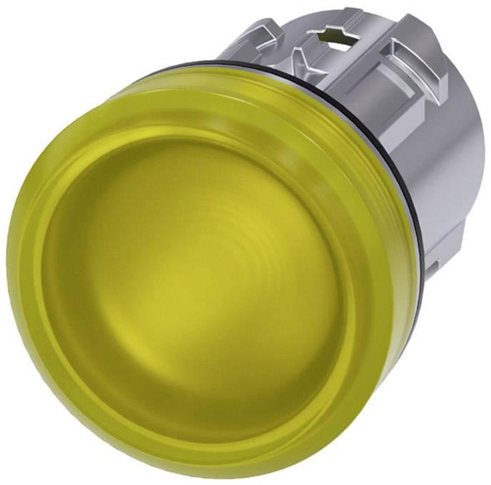 Signalizační světlo Siemens 3SU1051-6AA30-0AA0, plochý, žlutá, 1 ks