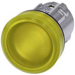 Světelný hlásič Siemens 3SU1051-6AA30-0AA0, plochý, žlutá, 1 ks